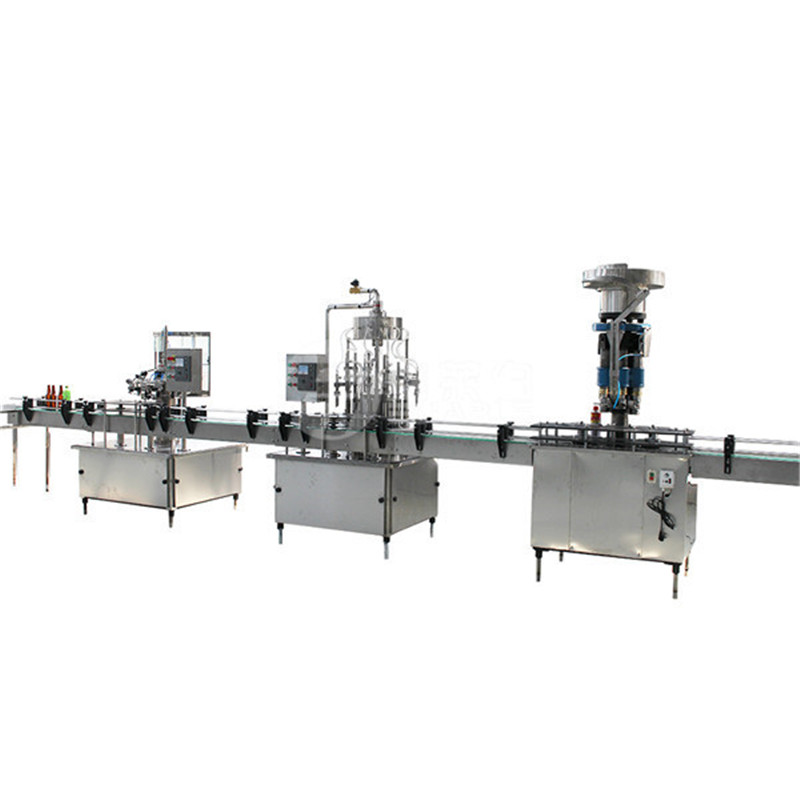 2-in-1 automatic bottle filling capping machine for liquid