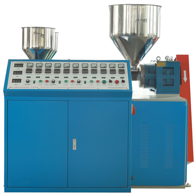 Dual Color Automatic Straw Making Machine double color plastic tube instant straw two color straw making machine equipment
