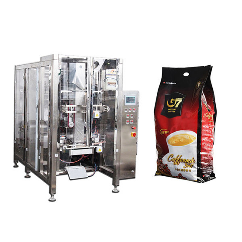V.F.F.S. Bagger Complete Systems » automatic quad seal bag packaging machine volumetric cup filling machine