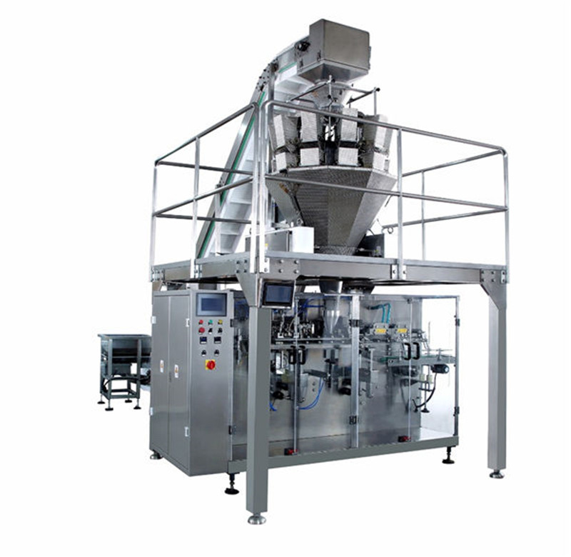 H.F.F.S. Pouch Packaging Machine automatic horizontal pre-made bag packing machine
