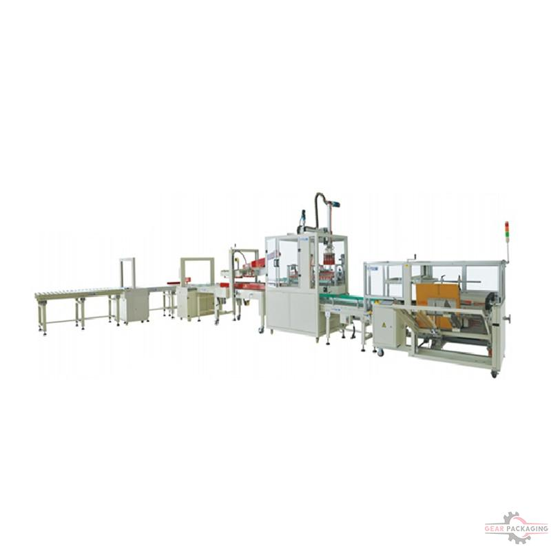 Full Automatic Carton Packing Line
