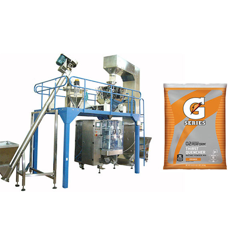 chemical powder vertical packing machine V.F.F.S. Bagger Complete Systems