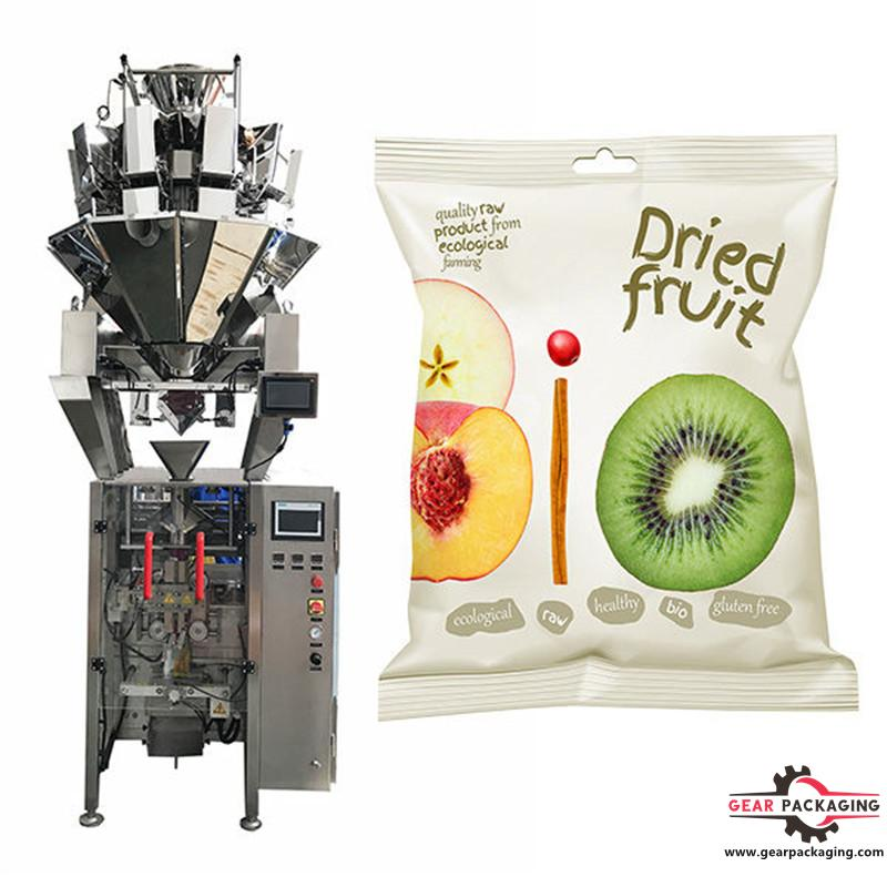 50g dried fruit packaging machine V.F.F.S. Bagger Complete Systems