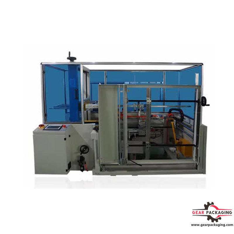 Automatic bag carton case packer machine carton erecting formating machine for bags