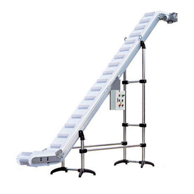 S-type cleat belt elevator chain delivery conveyor