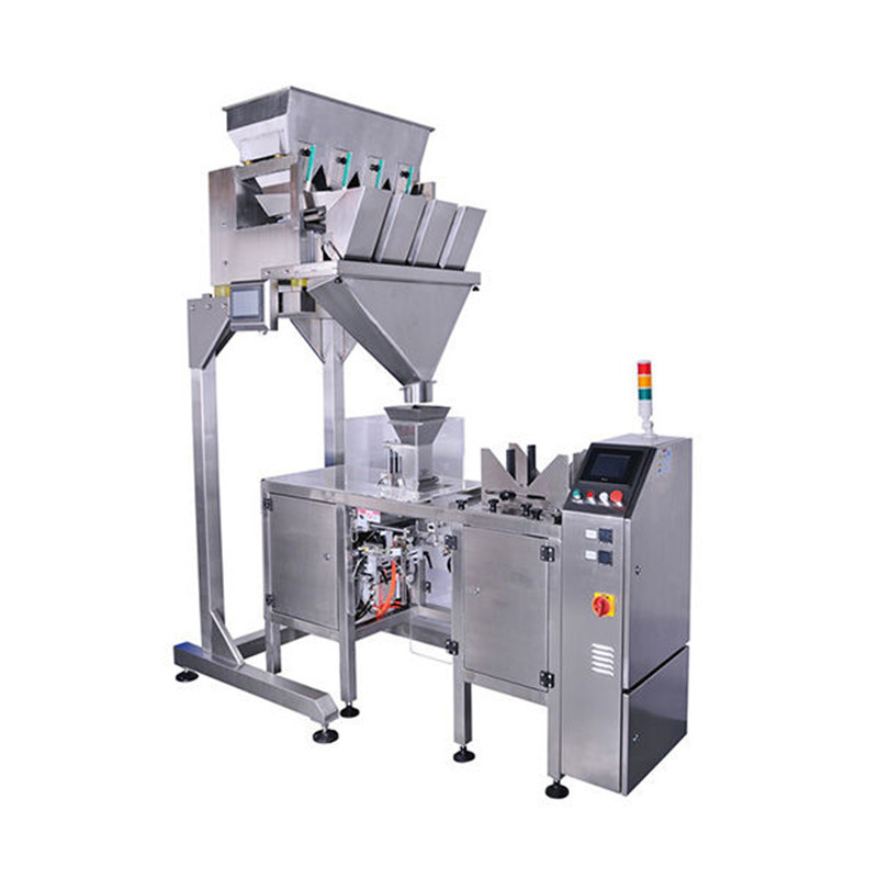 Mini doypack bagging packing machine with linear scale weigher granules Pre-Made Pouch Packaging Solutions