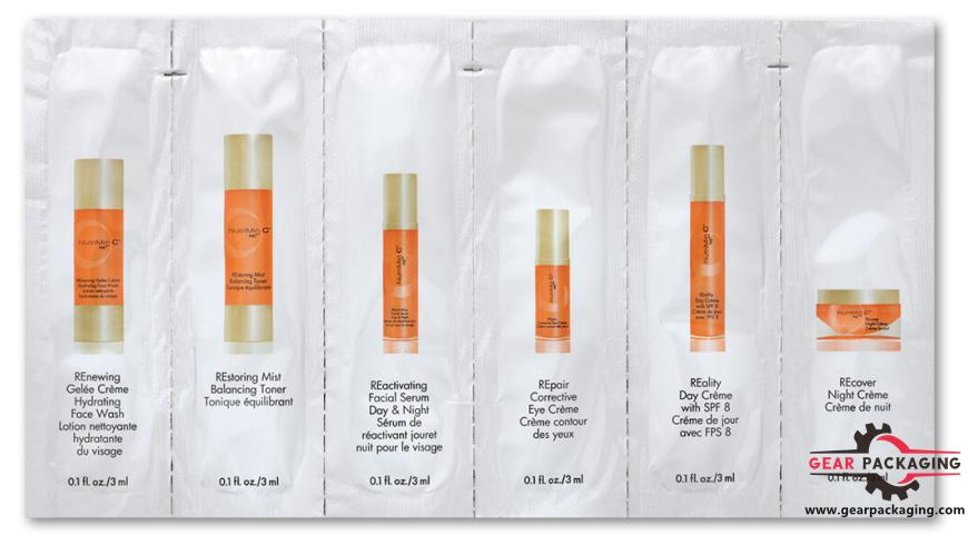 Beauty Care Packaging Samples