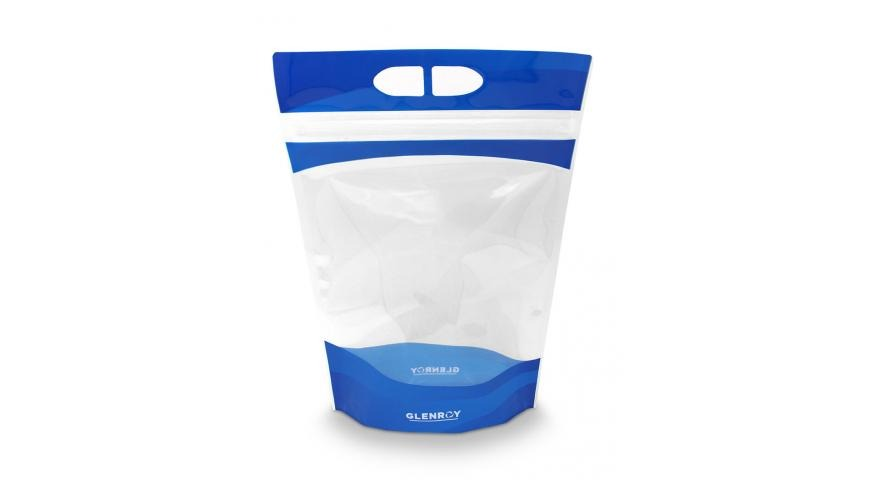 Clear Stand-up Pouch with Innovative Closure