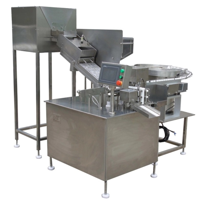 Effervescent tablets tube filling sealing machine
