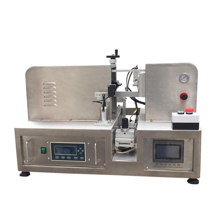 Semi automatic soft tube unltrasonic sealing machine