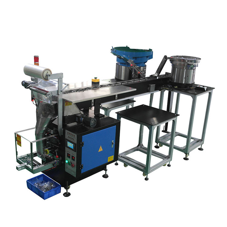 Multi function hardware bucket chain type vertical bag packaging machine