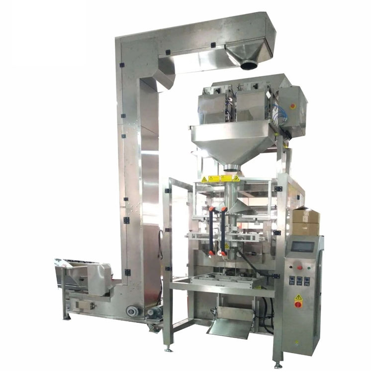 Automatic 2 weighing linear head big bag filling packing machine