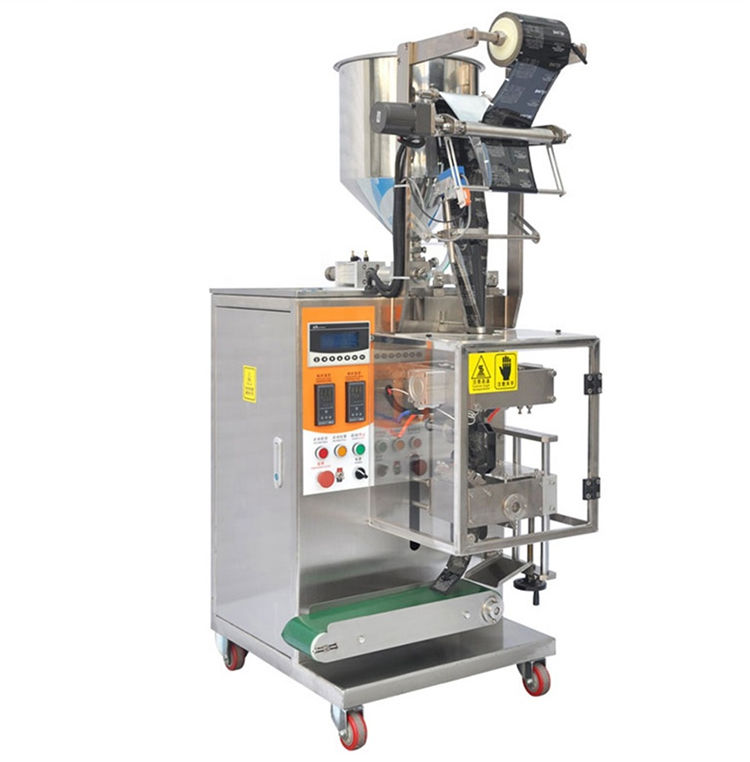 Automatic 4 side bag liquid filling sealing vffs packaging machine