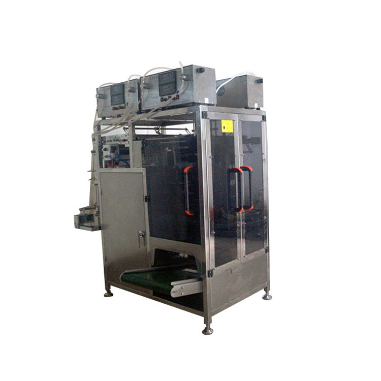 Automatic 10 lanes food drink 10 lanes liquid filling sealing packaging machine