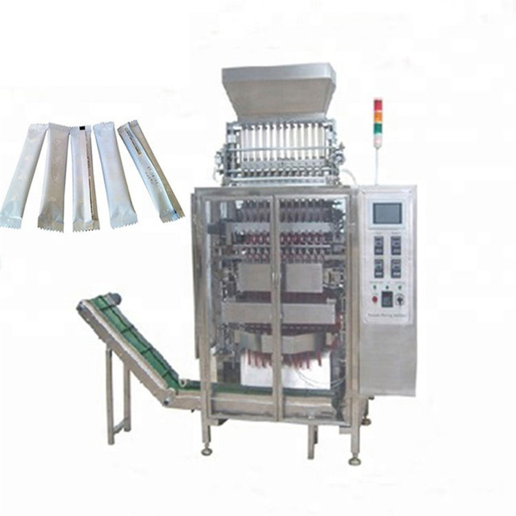 Customized automatic 12 lanes high speed bag sachet sitck bagging packing machine