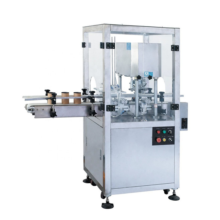 Automatic metal can food tin sealing seaming machine